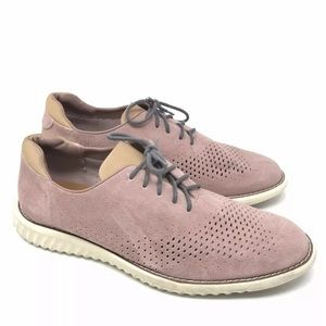 Steve Madden Shoes Suede Oxford Sneaker Perforated